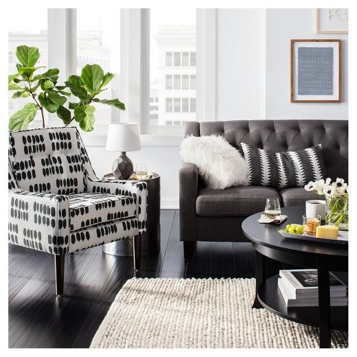 Target Throw Pillows Living Room : Cream Mongolian Faux Fur Throw Pillow (18