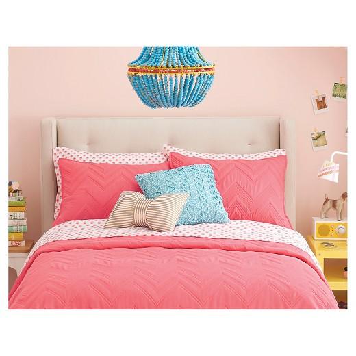 Target White Decorative Pillow : Gold & White Metallic Stripe Bow Throw Pillow - Xhilaration : Target