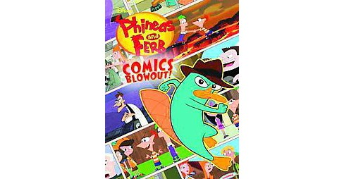 Phineas and Ferb Colossal Comics Collection (Paperback) (Scott Peterson & Jim Bernstein & Martin Olson & - image 1 of 1