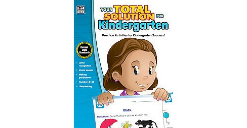 Your Total Solution for Kindergarten (Workbook) (Paperback) - image 1 of 1