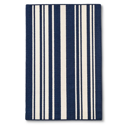 Indigo Stripes Doormat - (5'X7')- Maples