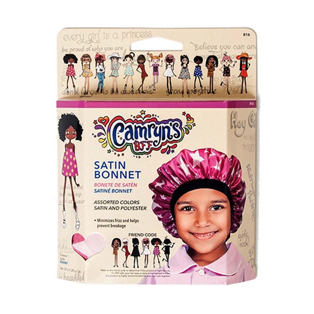 Camryns Bff Satin Bonnet, Girls, Size: Large, Basic - Dnu