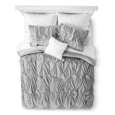 Gray Chevron Textured Bed In A Bag (Full)- Xhilaration™