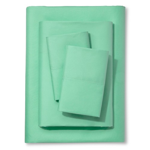 Mint Solid Sheet Set (Twin) - Xhilaration, Green