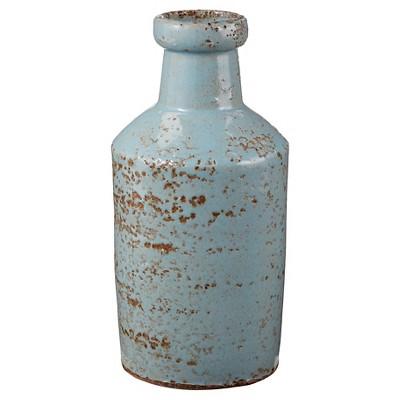 Aged White Milk Bottle