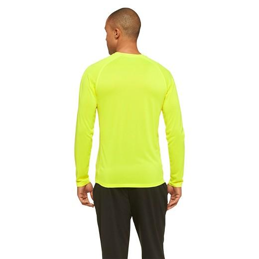 C9 Champion® Men's Running Long Sleeve T-Shirt - Neon Yellow : Target