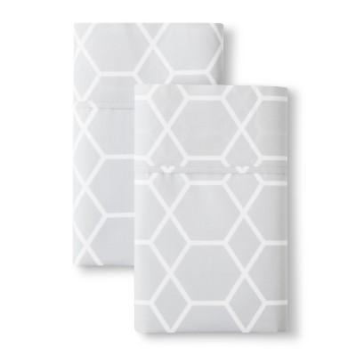Organic Pillowcase (Standard)Silver 300 Thread Count - Threshold™
