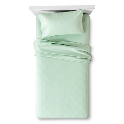 Easy Care Sheet Set (Full)Virescent Green - Room Essentials™