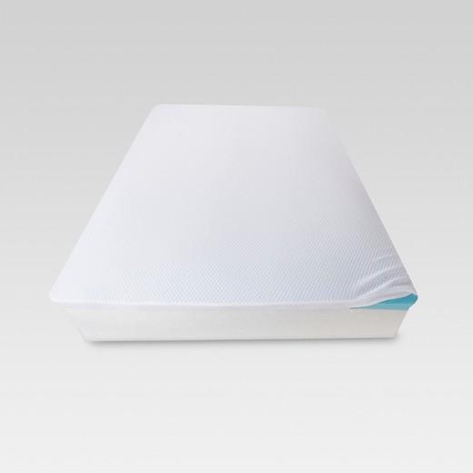 2 Quot Temperature Regulating Memory Foam Mattress Topper