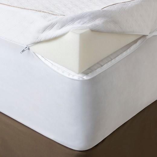 Ultimate Comfort 4 Memory Foam Mattress Topper Fieldcrest