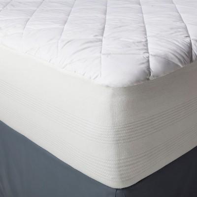 Waterproof Mattress Pad (Full)White - Threshold™