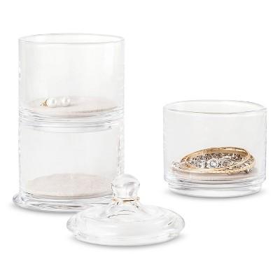 West Emory™ Stacking Glass Jewelry Storage Jars