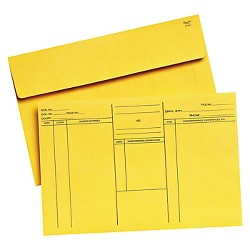 Quality Park™ Attorney's Open-Side Envelope, Ungummed, 10 x 14 3/4, Cameo Buff, 100/Box