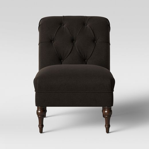 Wales Rollback Tufted Turned Leg Slipper Chair - Threshold™