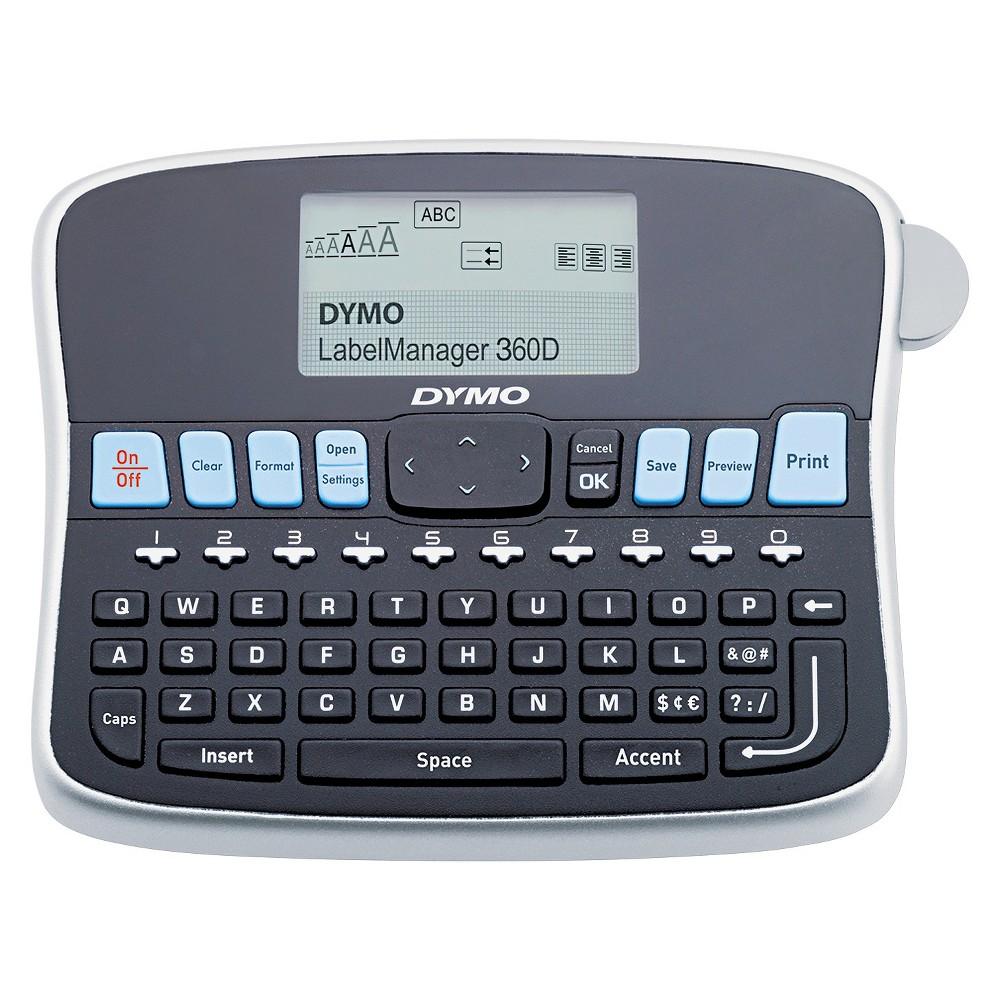 DYMO LabelManager 360D, 2 Lines, 2-4/5w x 7-4/5d x 5-9/10...