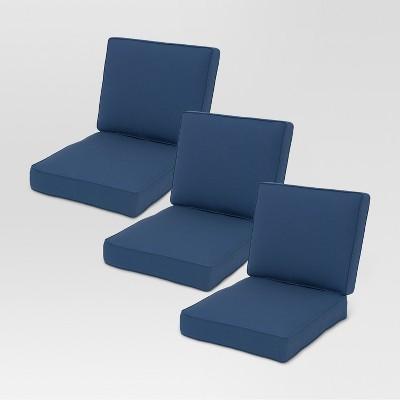 Sunbrella Belvedere Sofa 6pc Replacement Cushions   Threshold™