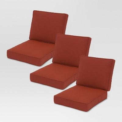 sunbrella belvedere sofa 6pc replacement cushions threshold - Sunbrella Furniture