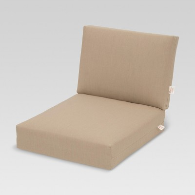Sunbrella Heatherstone Sectional Replacement Cushion - Threshold™  sc 1 st  Target : replacement sectional cushions - Sectionals, Sofas & Couches