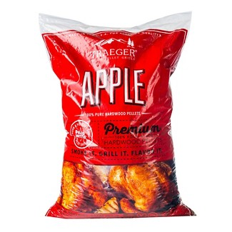 Traeger Bbq Pellets Apple, 20 lb