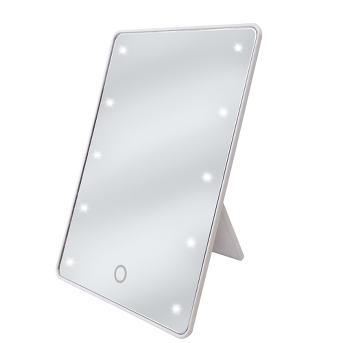 Ginsey Sharper Image LED Sensor Mirror with Easel Back
