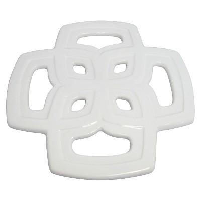 Ceramic Trivet - White - Threshold™