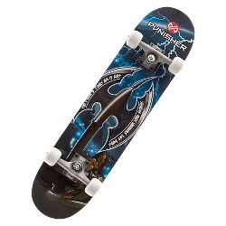 "Punisher Skateboards Warrior 31.5"" Blue Skateboard"