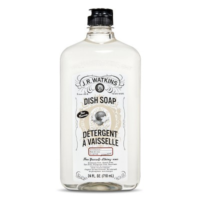 J.R. Watkins Coconut Scented Dish Soap 24 oz