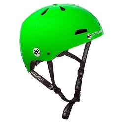 Punisher Skateboards Skateboard Helmet Lime Green