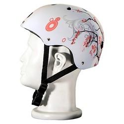 Punisher Skateboards Cherry Blossom Helmet White