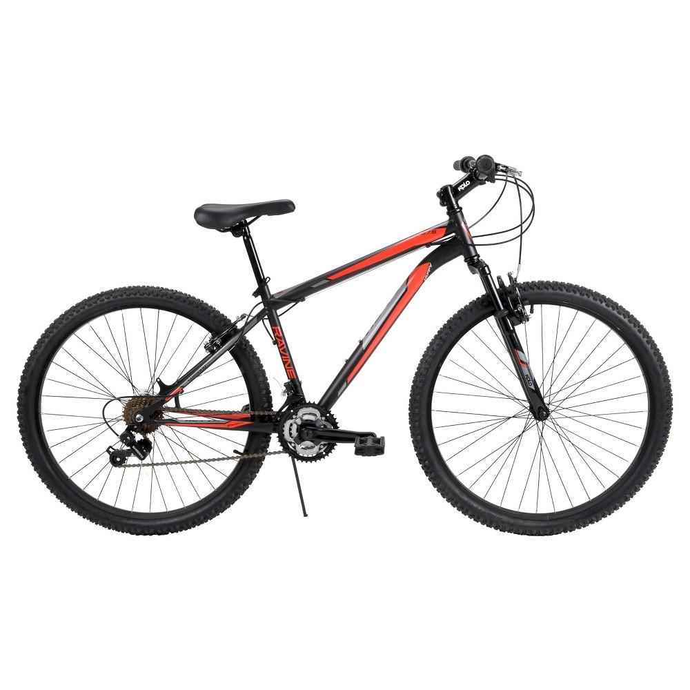 Huffy Men's Ravine Mountain Bike 27.5 - Black/Red
