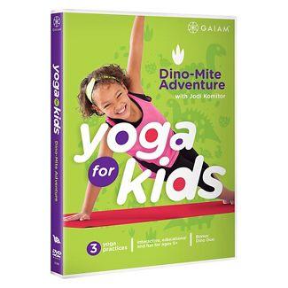 Yoga For Kids-dino Mite Adventure (Dvd) (DVD)
