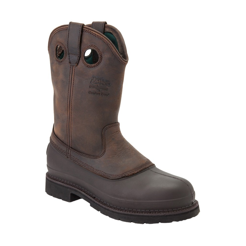 Mens Georgia Boot Wide Width Muddog Boots - Mississippi Brown 9W, Size: 9 Wide