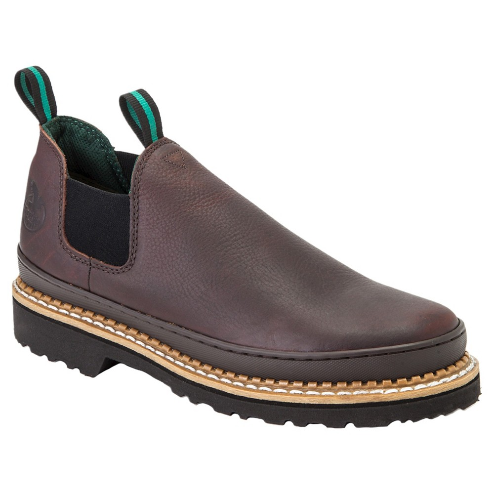 Georgia Boot Mens Wide Width Romeo Boots - Brown 14W, Size: 14 Wide