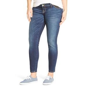 Maternity Inset Under the Belly Ankle Skinny Jean - Dark Wash S- Liz Lange for Target, Women