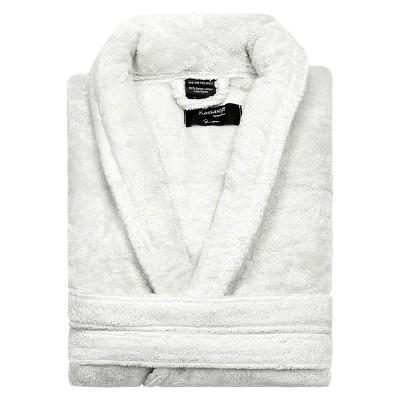 KassaSoft Supima Cotton Bath Robe - White