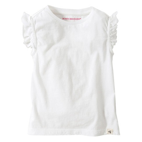 Toddler Girls' Burt's Bees Ruffle Sleeve Tank - image 1 of 1