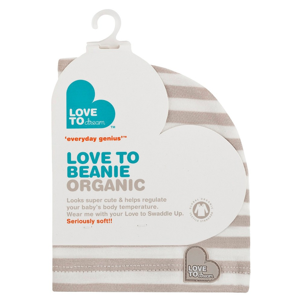 Love to Dream Love to Beanie - Organic - Taupe (Brown), Infant Unisex