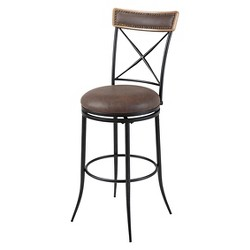 """Boise 30"""" Barstool Metal/Fruitwood - Fashion Bed Group"""