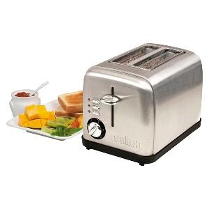 Salton Electronic 2 Slice Toaster, Silver