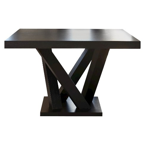 essex square dining table woodespresso abbyson living - Square Dining Table