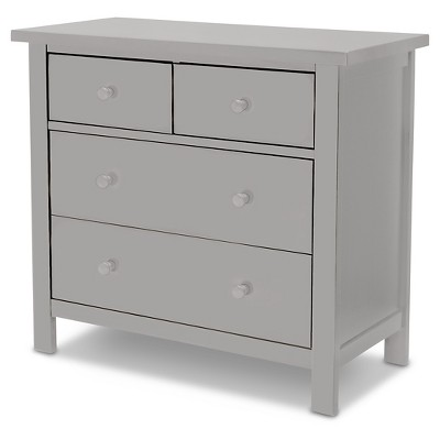 Rowen 4 Drawer Kids Dresser – Gray - Delta Children