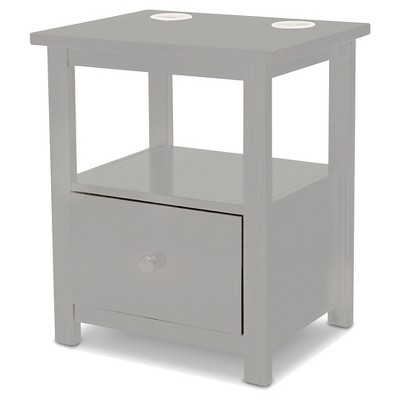Rowen Kids Nightstand – Gray - Delta Children