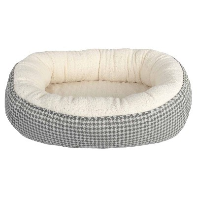 Houndstooth Oval Pet Bed - XL - Boots & Barkley™