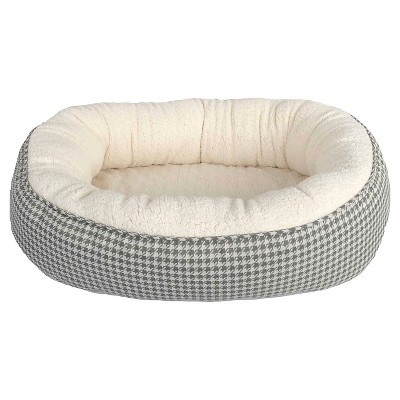 Houndstooth Oval Pet Bed - M - Boots & Barkley™