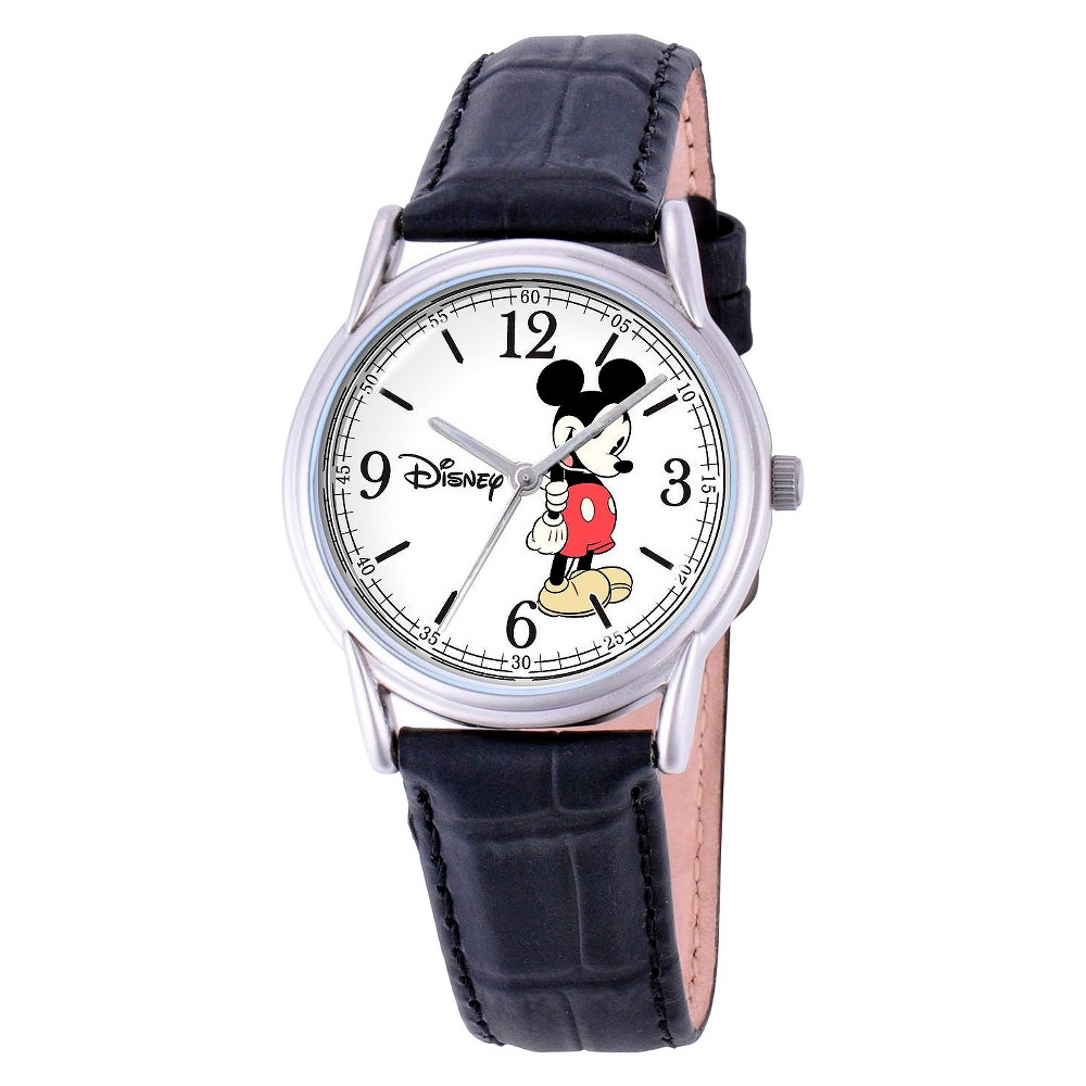 Mens Disney Mickey Mouse Cardiff Watch - Black
