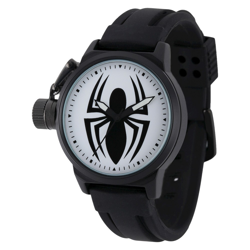 Men's Marvel Spider Crown Protector Watch - Black