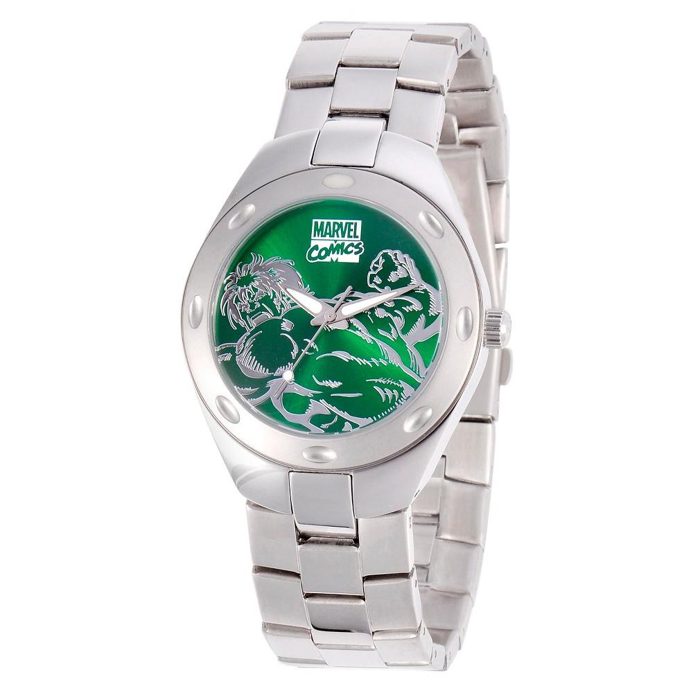 Mens Marvel Hulk Fortaleza Watch - Silver