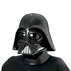 Star Wars Darth Vader Adult 2-Piece Deluxe Molded Mask One Size Fits Most