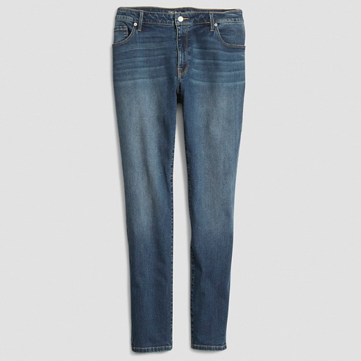 Women's Plus Size Skinny Jeans Lance Wash (Juniors') - Mossimo ...