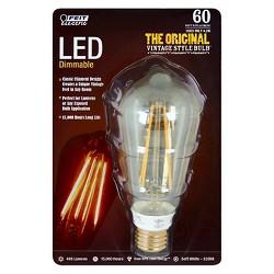 Feit 60-Watt Vintage ST19 LED Light Bulb - Soft White
